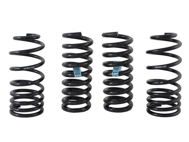 COIL SPRING SET PROGRESSIVE RATE FORD RACING 650