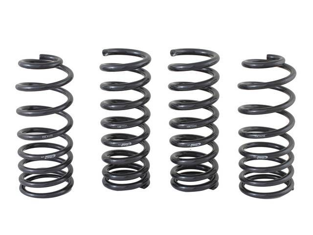 COIL SPRING SET PROGRESSIVE RATE FORD RACING 500