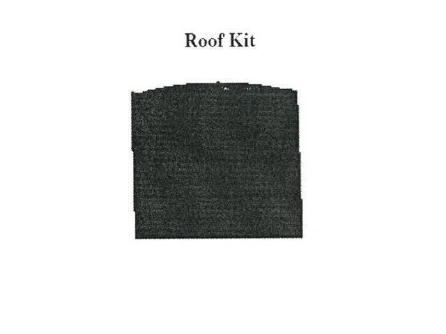 Roof / Headliner Kit, Acousti Shield, Quite Ride