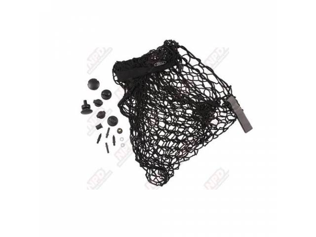 KIT LUGGAGE COMPARTMENT CARGO NET RETENTION ORIGINAL PRIOR