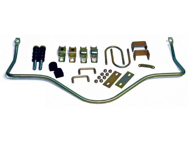 Sway Bar Kit, Rear, Steeda, Adjustable, Incl Spring