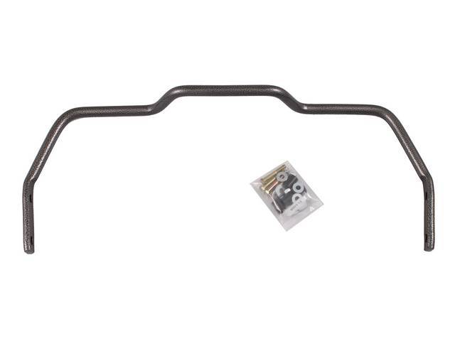 Sway Bar Kit, Rear, Hellwig, 1 Inch, Chromolly Steel, Incl Attaching Hardware, These Bars Are To Be Used W/ Cars With Factory Rear Sway Bars