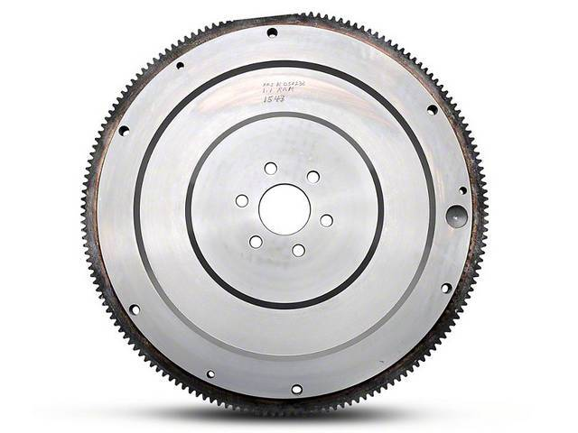 Flywheel, M/T, Externally Balance, 164 Tooth, 6 Bolt