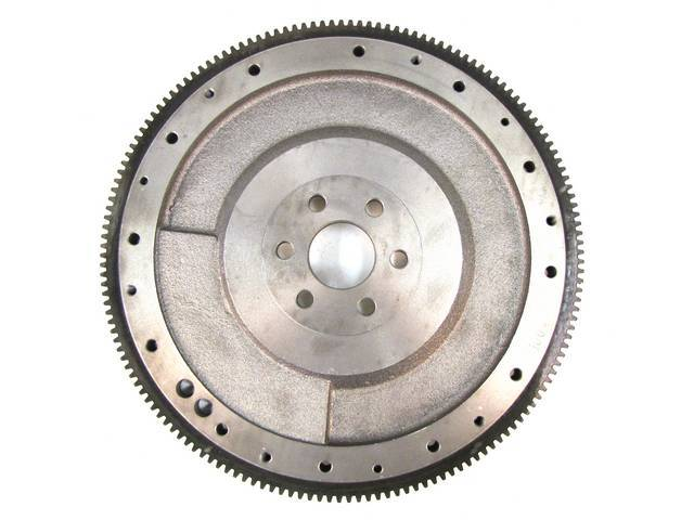 Flywheel, Manual Transmission, External 50 Ounce Balance, 157 Tooth, Nodular Iron, Repro E6zz-6375-A, Designed To Fit Both 10 Inch Or 10.5 Inch Clutch
