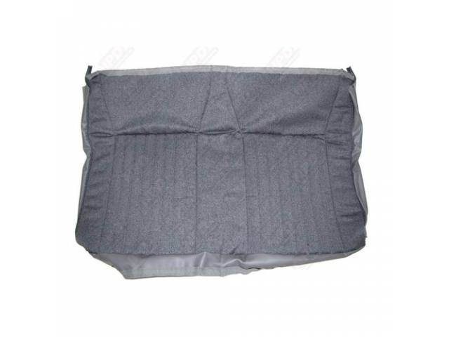 Upholstery Rear Seat Back Opal Gray Cloth Original