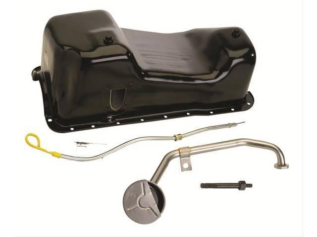 Conversion / Swap Kit, 351w Oil Pan, Ford