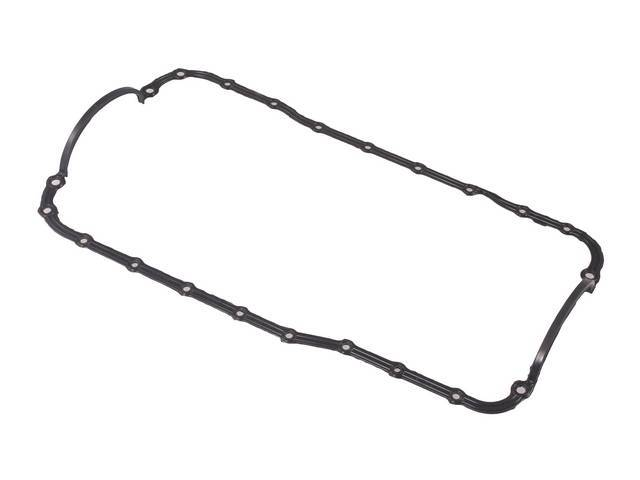Gasket, Oil Pan, One Piece Rubber, Ford Racing, Desgned For Use With Smooth Rail Oil Pans, Rubber Bonded On Steel Reinforcement, M-6710-A50