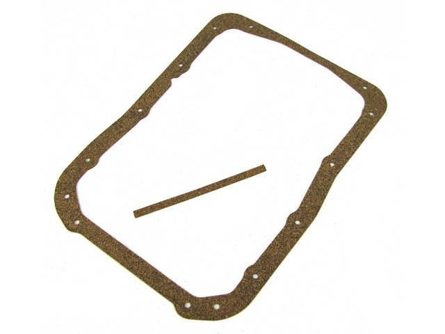 Gasket Set, Oil Pan, Repro, W/ One Piece Cork Oil Pan Gasket And Cork End Seals, E2dz-6781-A