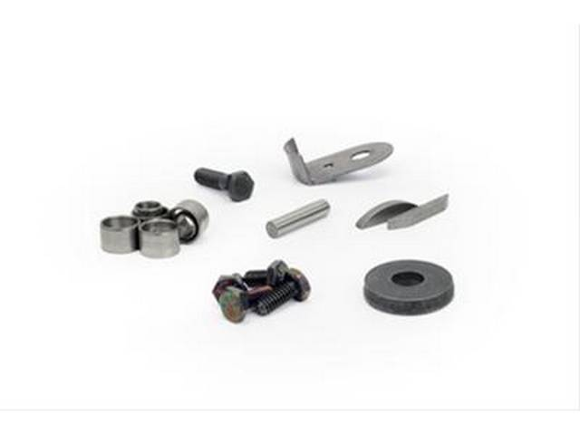 Hardware Kit, Engine Finishing, Comp Cams, Incl (1) Cam Oil Slinger, (1) Cam Bolt, (1) Cam Washer, (1) Camshaft Dowel Pin, (2) Cam Retainer Bolts, (2) Lifter Retainer Bolts, (4) Cylinder Head Dowels, (2) Timing Cover Dowels, (2) Keyways