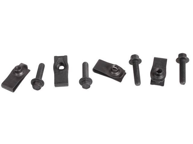 MOUNTING KIT LOWER GEAR SHIFT BOOT BLACK INCL