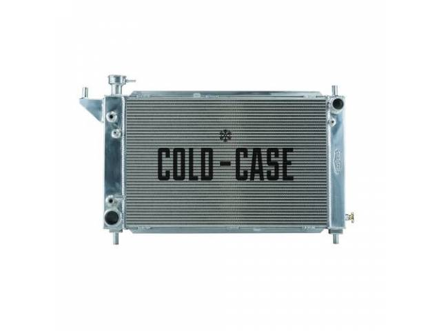 Radiator Aluminum 2 Row Cold Case Designed To