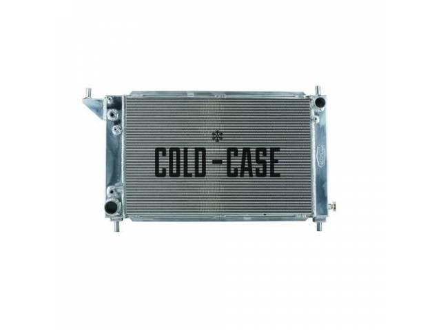Radiator, Aluminum, 2 Row, Cold Case, Designed To