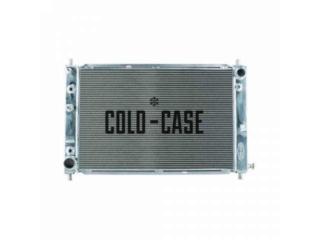 Radiator, Aluminum, 2 Row, Cold Case, Designed To