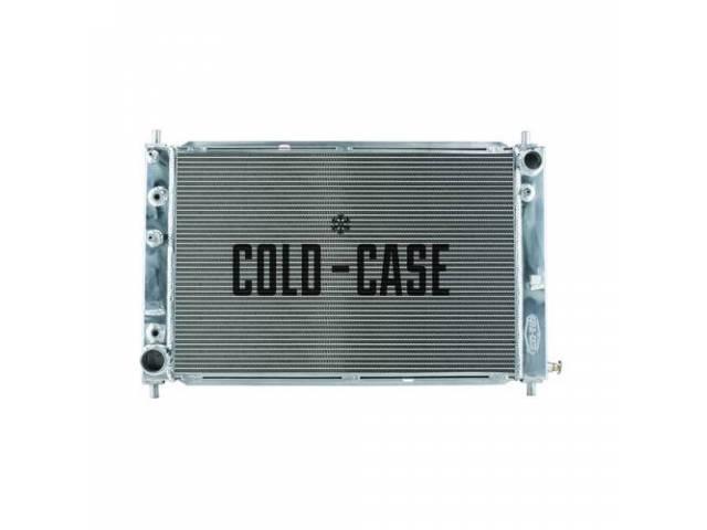 Radiator Aluminum 2 Row Cold Case Designed To