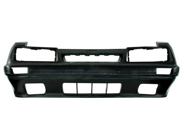 Panel, Radiator Grille Opening, W/ Holes For Fog Lights, Original Ford Tooling, Oe Style Repro, E5zz-8190-B
