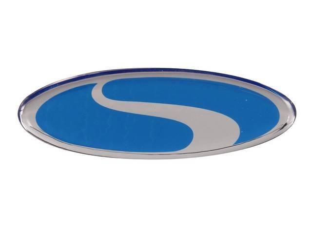 STEEDA Mustang Oval Embossed Emblem 3.25