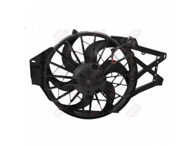 Fan Assy Motor Electric Incl Fan Blade Shroud
