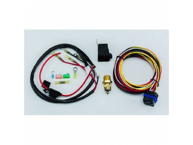 Relay And Wiring Kit, Electric Fan, Cold Case,