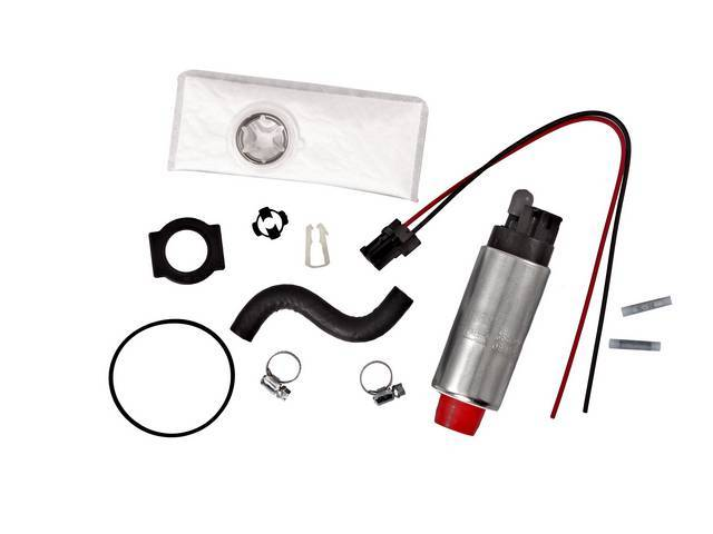 Pump And Installation Kit, Fuel, Walbro, 190 Lph