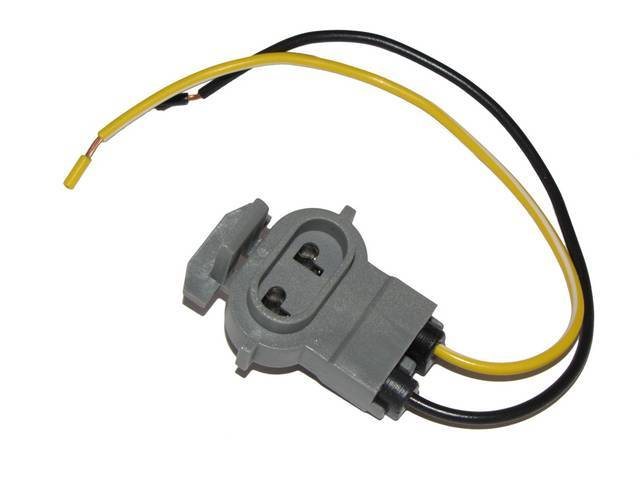 Repair Harness, Fuel Tank Sender, Gray, Incl (2) 8 Inch Long 18 Gauge Leads, Designed To Replace Factory Plug