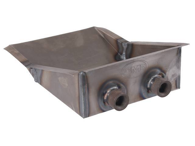 Sump, Fuel Tank, Incl (2) 1/2 Inch Outlet