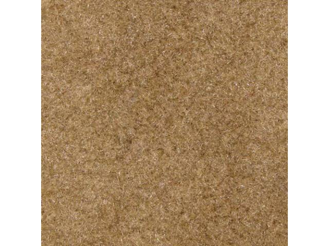 Carpet Standard Cut Pile Nylon Molded Sand Beige