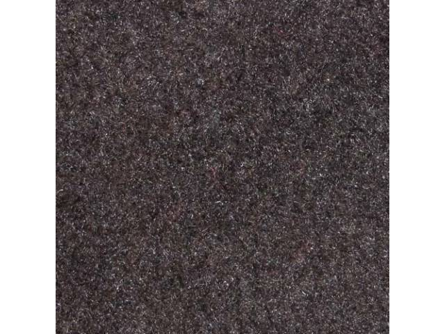 Carpet Standard Cut Pile Nylon Molded Charcoal Gray