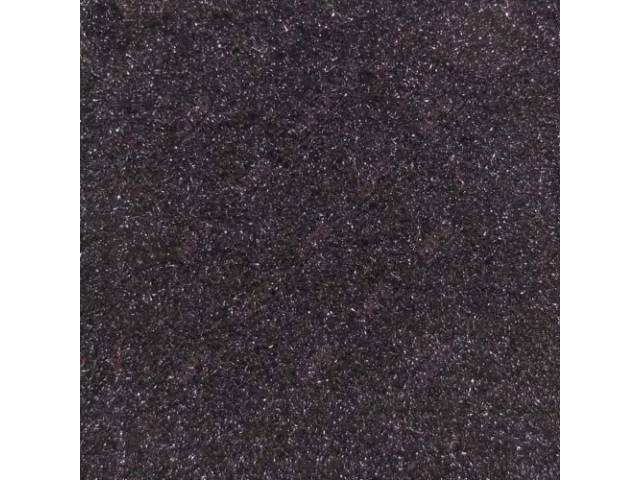 Carpet Standard Cut Pile Nylon Molded Black Incl