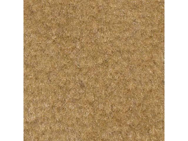 Carpet Standard Cut Pile Nylon Molded Desert Tan