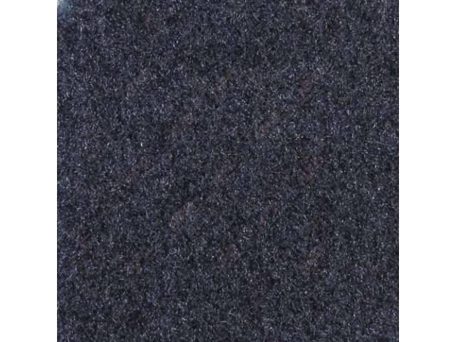 Carpet Deluxe Cut Pile Nylon Mass Back Molded