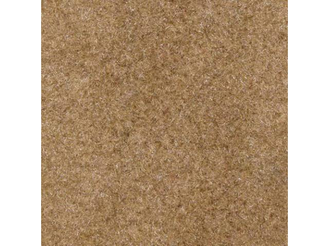 Carpet, Standard Cut Pile Nylon, Molded, Sand Beige,