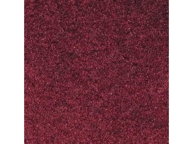Carpet Standard Cut Pile Nylon Molded Ruby Red