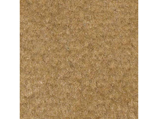 Carpet Standard Cut Pile Nylon Molded Desert Tan