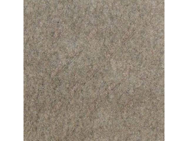 Carpet Standard Cut Pile Nylon Molded Medium Gray