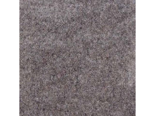 Carpet Standard Cut Pile Nylon Molded Opal Gray