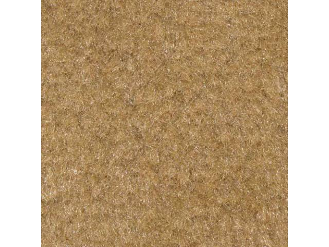 Carpet, Deluxe Cut Pile Nylon, Mass Back Molded,