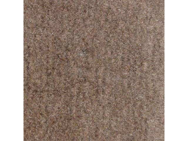 Carpet, Standard Cut Pile Nylon, Molded, Medium Graphite,
