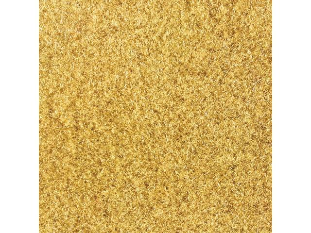 Floor Mats, Carpet, Cut Pile Nylon, Chamois /