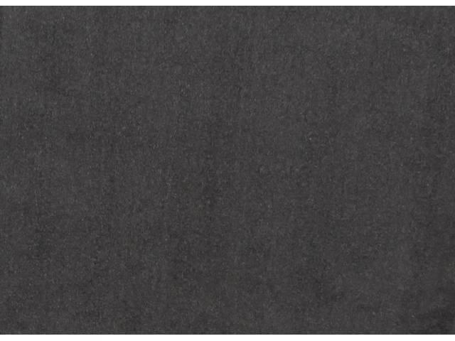 Floor Mats, Carpet, Cut Pile Nylon, Ebony, W/