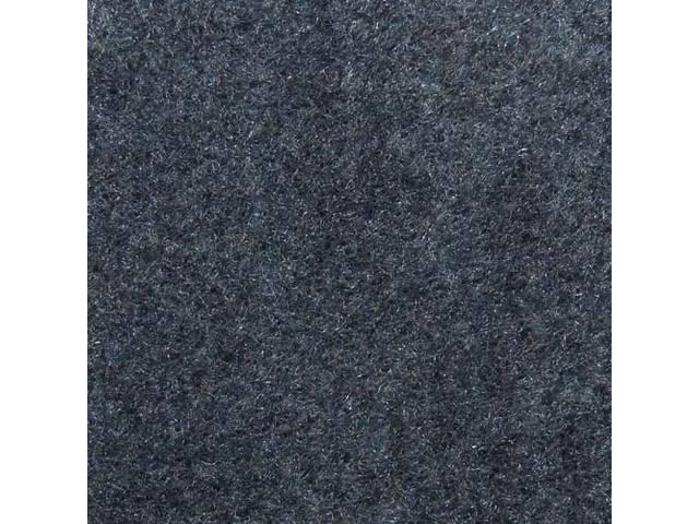 Floor Mats, Carpet, Cut Pile Nylon, Wedgewood Blue,