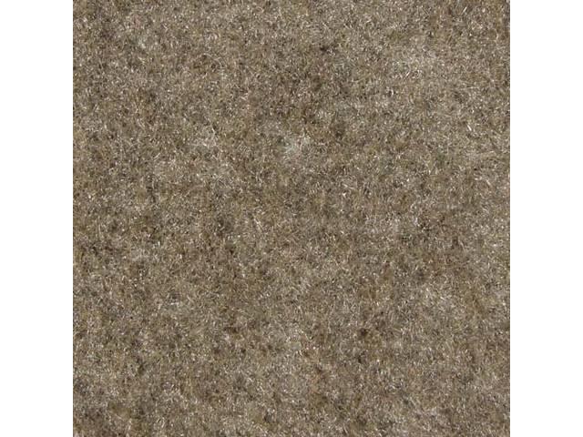 Floor Mats, Carpet, Cut Pile Nylon, Light Pewter,