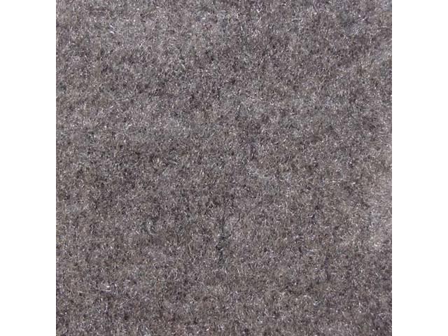 Floor Mats, Carpet, Cut Pile Nylon, Opal Gray,