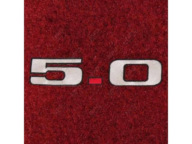 Carpet Rear Hatch Area Cut Pile Medium Red