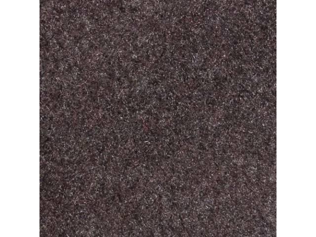 Carpet, Rear Hatch Area, Cut Pile, Charcoal Gray,