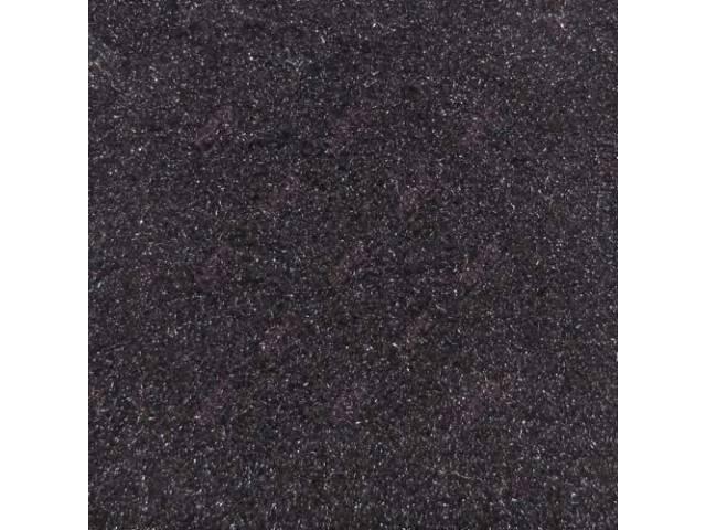CARPET REAR HATCH AREA CUT PILE BLACK INCL