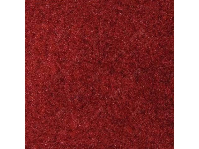 Carpet Rear Hatch Area Cut Pile Scarlet Red
