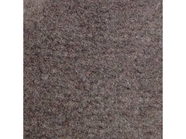 Carpet, Rear Hatch Area, Cut Pile, Smoke Gray,