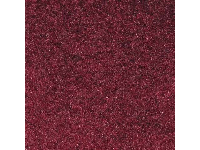 Carpet Rear Hatch Area Cut Pile Ruby Red