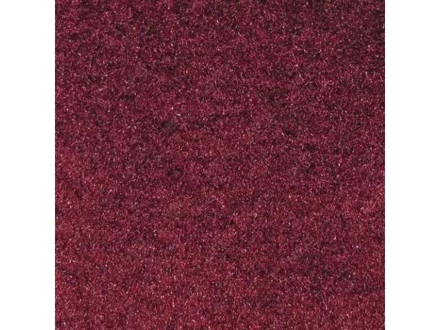 CARPET REAR HATCH AREA CUT PILE RUBY RED