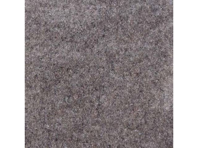Carpet, Rear Hatch Area, Cut Pile, Opal Gray,